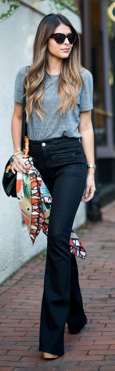 How To Rock A Silk Scarf by The Girl From Panama