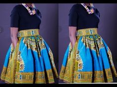 This is a tutoial on how to cut and sew a gathered skirt with pockets. Diy Maxi Skirt, Maxi Skirt Tutorial, Ankara Skirt And Blouse, Girl Dress Patterns, Sewing Patterns, Skirt Patterns, Coat Patterns, Blouse Patterns, Diy Fashion