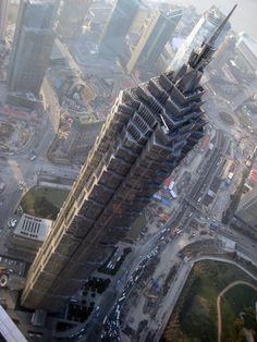 Jim Mao Tower, Shanghai, China.