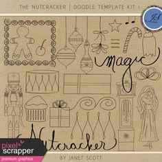 The Nutcracker - Doodle Template Kit 1