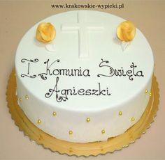 Tort na I Komunię Świętą