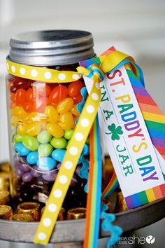 Rainbow St. Patrick's Day - printables (6)