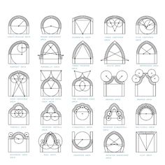 The Mind Of Architecture Types Arches True. digital design and computer architecture pdf. newschool of architecture and design. architecture and design. Gothic Architecture Drawing, Cathedral Architecture, Arch Architecture, Islamic Architecture, Computer Architecture, Steinmetz, Islamic Art Pattern, Geometric Drawing, Geometry Art
