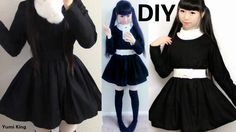 DIY Basic Long Sleeve Dress for Beginners. It took me less than one day made this. You could this method making lots of anime costumes, dresses that with lon...