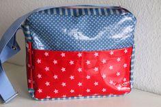 elbmarie, pattern CLEO, oilcloth, Wachstuch, Schnittmuster, Taschenschnitt