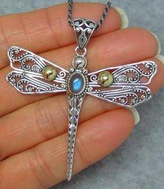 How To Make Silver Bracelets Info: 8587233310 Dragonfly Necklace, Dragonfly Pendant, Silver Pendant Necklace, Sterling Silver Necklaces, Onyx Necklace, Moonstone Necklace, Stud Earrings, Mens Silver Rings, Silver Bracelets