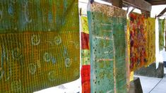 Living Color — My current adventures in color and texture on cloth