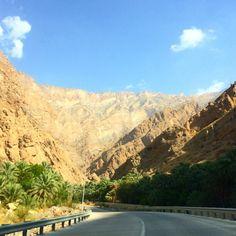 Conduciendo por parajes fascinantes! A qué lugar te recuerda? #bloguerogold #amex #viajandooman