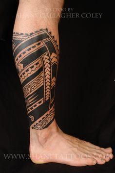 Polynesian side view