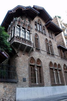 Casa Golferichs (1900-1, Joan Rubió i Bellver)- Barcelona