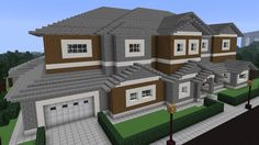 This is just a modern house basically with 9 rooms and a nice garage. There are 3 guest bedroom 2 master bed rooms, a kitchen,an attic,a game room,and a TV room.