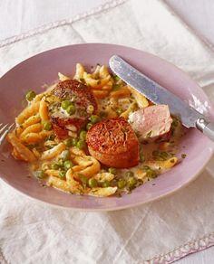 Spätzle mit Sauce und Schweinefilet Rezept - [ESSEN UND TRINKEN]
