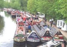 Image result for working canal barges Canal Barge, Canal Boat, Great Places, Places To Go, Narrowboat, Boating, Castles, Water, Roses