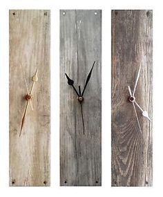grey wood clock - Google-søk