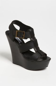Steve Madden Wanting Wedge Sandal available at #Nordstrom