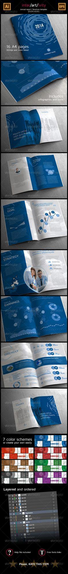 Corporate Annual Report (Circles Series) - Corporate Brochures