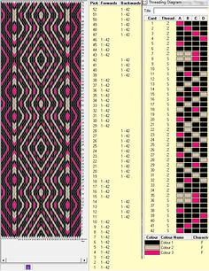 42 tarjetas, 3 colores, series de 10F-4B-4F-10B // sed_180༺❁