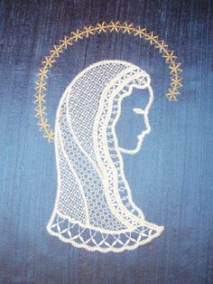 Album Archive Paper Cutting Patterns, Bobbin Lace Patterns, Point Lace, Lace Making, Madonna, Nativity, Decoupage, Projects To Try, Album