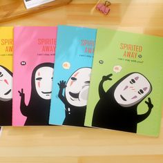Spirited Away Cartoon Cute B5 Notepad Students School Notebook Stationery Diary…