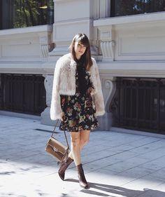 Fur & floral// Margo & Me