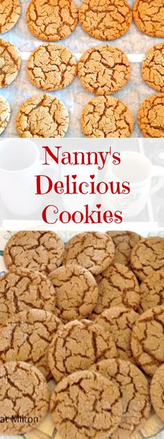 Nannys Delicious Cookies - These little cookies have wonderful flavours! Very popular too! | Lovefoodies.com