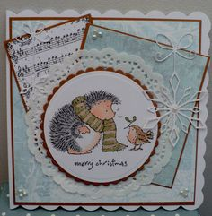 Penny Black hedge stamps are simply too cute! I would like to get this stamp set too.