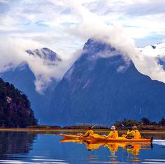 Kayak in Milford Sound | 7 Awesome Things to Do in New Zealand