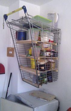 Redneck kitchen shelf