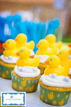 Rubber Duckie First Birthday - Kara's Party Ideas - The Place for All Things Party