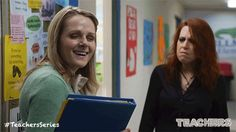 When that teacher joke was not so funny. New Episodes of Teachers premiere Wednesdays 10:30/9:30c on TV Land.  Executive Produced by Alison Brie, Ian Roberts and Jay Martel and starring comedy troupe, The Katydids. Click to discover a sneak peek.