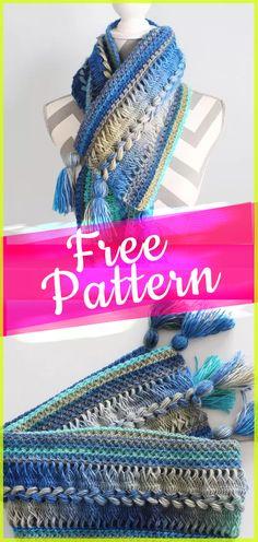 Free Pattern Crochet Scarf Infinity easy tutorial pattern