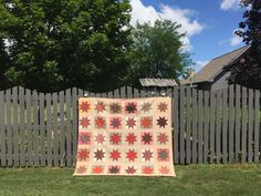 Finish It Up Friday ~ Vintage Stars | KatyQuilts