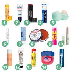 Best Drugstore Lip Balms under $10