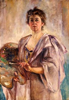 Alice Pike Barney, Self-Portrait - was an American painter. She was active in Washington, D.C. and worked to make Washington into a center of the arts.