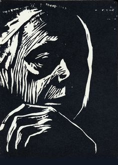 If Kathe Kollwitz were still alive, I would go study with her. I would learn German for Kathe Kollwitz. Linocut Prints, Art Prints, Kathe Kollwitz, Wood Engraving, Engraving Printing, Scratchboard, Art Graphique, Woodblock Print, Oeuvre D'art