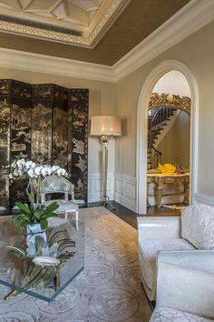 Park Ave Penthouse Living Room Vignette