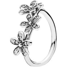 Pandora Ring ($60) ❤ liked on Polyvore featuring jewelry, rings, silver, pandora jewellery, silver jewellery, silver chain jewelry, polish jewelry and chain jewelry