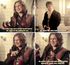 "Rumple and Dr. Jekyll  - 6 * 4 ""Strange Case"""