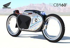 Retro-Modern Honda Gone Hubless | Yanko Design