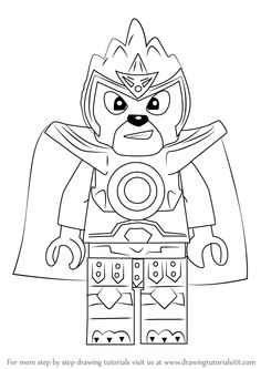 How to draw evil green ninja from ninjago - Comment dessiner un ninja ...