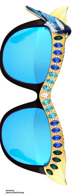 Anna-Karin Karlsson #Luxurydotcom  Wonderful design sunglasses