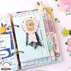 5 Ways to Add Interest to your Mini Albums – Crate Paper (Rosey Posey Studio) Mini Albums, Mini Scrapbook Albums, Scrapbook Sketches, Crate Paper, Studio Calico, Scrapbook Generation, Clear Stickers, Mini Books, Flip Books