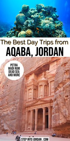 Top Day Trips from Aqaba Jordan | What to do in Aqaba | Tours from Aqaba | Jordan Travel Tips | Petra from Aqaba Red SEa #Jordan #RedSea #Aqaba #travel