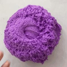 purple cloud slime gif