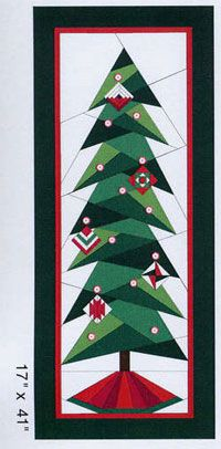 A Little Bit Shorter Tall Tree Pattern by A Very Special Collection at KayeWood.com. 17in x 41in. Includes tissue paper foundations to make two trees. Pins (ornaments) Not included. http://www.kayewood.com/item/A_Little_Bit_Shorter_Tall_Tree_Pattern/2976 $6.00