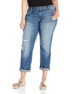 Lucky Brand Womens Plus Size Reese Boyfriend Jean in Northridge Park 16W >>> You can get additional details at the image link. (Note:Amazon affiliate link) #Jeans