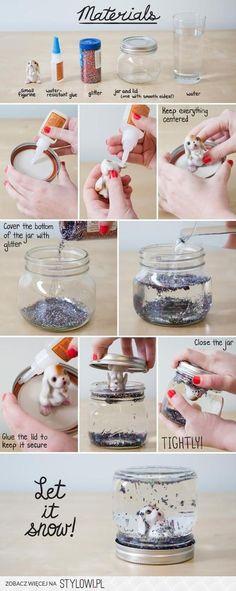 DIY SnowGlobe