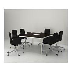 1000 images about nuovo ufficio on pinterest ikea kallax shelving unit and billy bookcases - Tavolo riunioni ikea ...