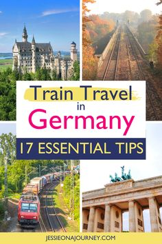 Interested in Germany train travel? These 17 tips help ensure a great trip when traveling by rail! // #Germany #Train #Travel #Rail #Bahn Vacation Deals, Travel Deals, Travel Guides, Travel Destinations, Holiday Destinations, Cities In Germany, Germany Travel, Sweden Travel, Travel Advice