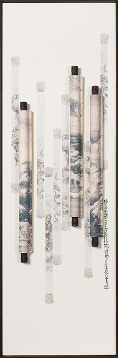 Tian yu art modern Chinese living room decoration painting double vertical version of the study hanging paintings abstract three-dimensional physical painting scroll Hanging Paintings, Crows, Three Dimensional, Living Room Decor, Chinese, Study, Asian, Abstract, Decoration